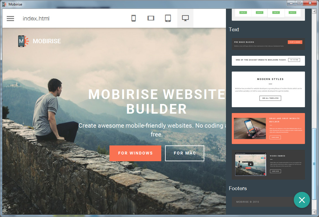 PARALLAX WEB DESIGN and VIDEO BACKGROUND HTML5