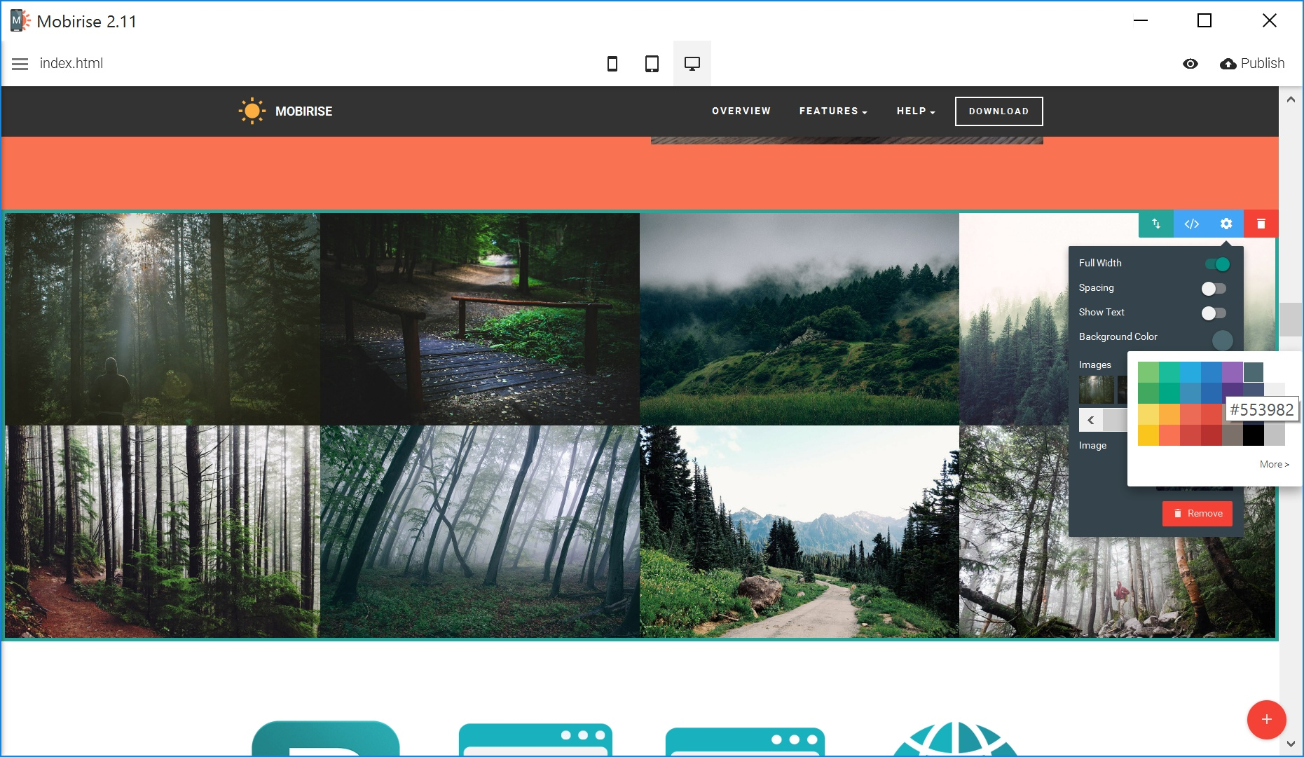 Bootstrap Simple Website Creator Review