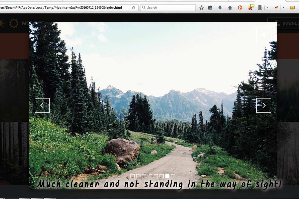 Simple HTML5 Web Building Software