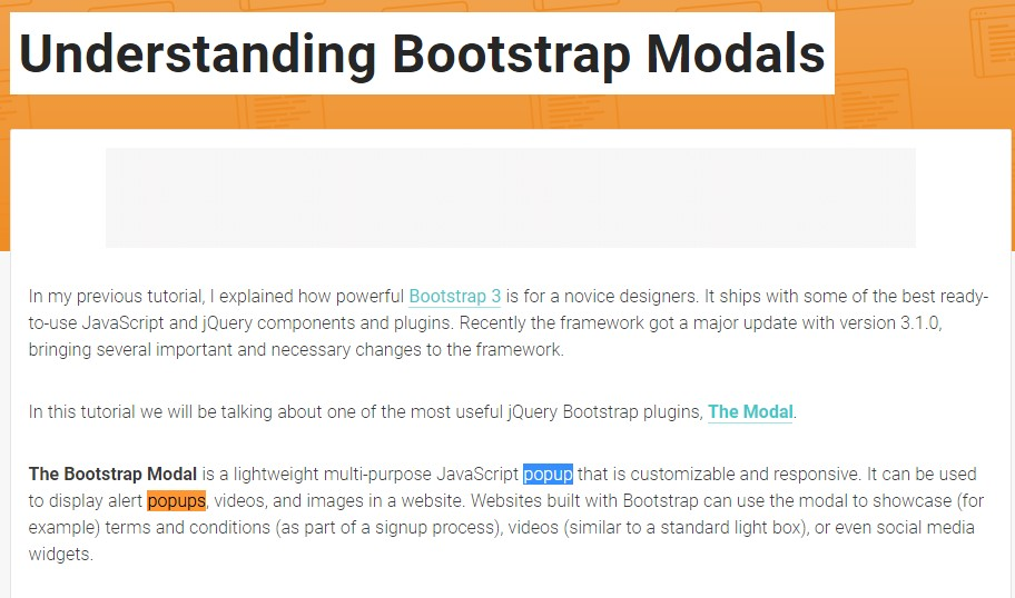 Yet another  valuable  information  concerning Bootstrap Modal Popup