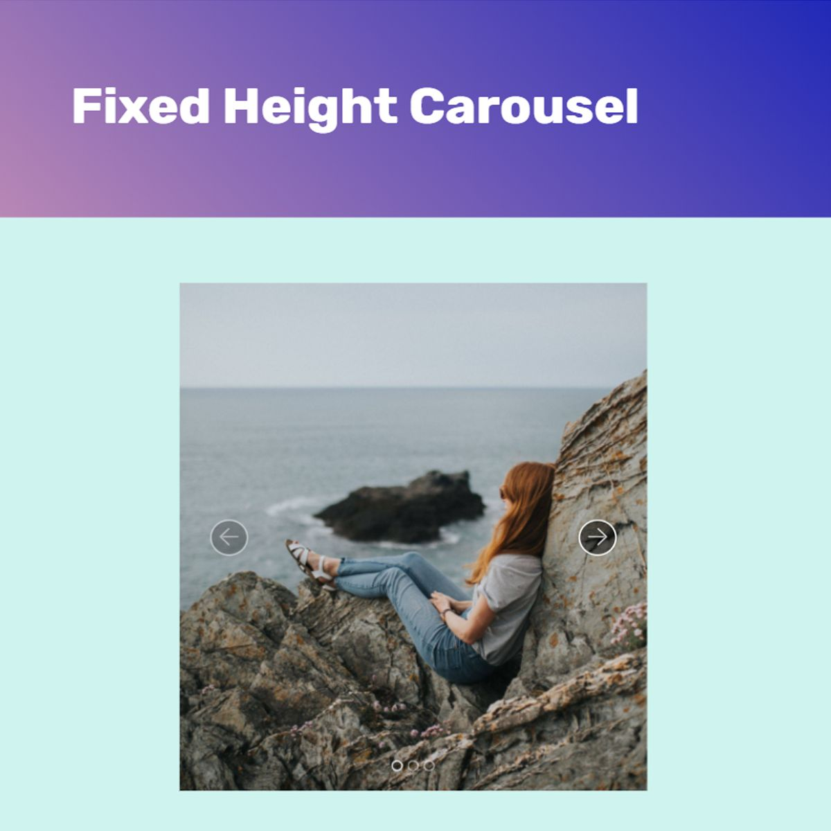 Free Bootstrap Photo Carousel