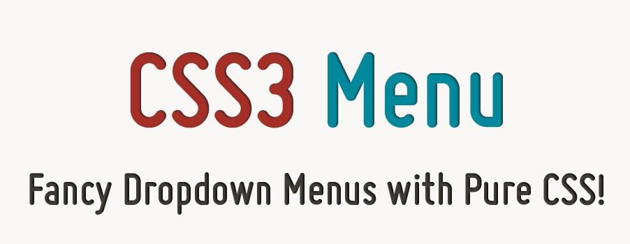 Css Menu   CSS Menu